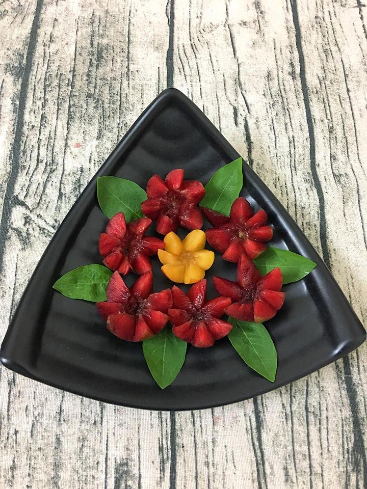 Tham khảo cách xếp hoa quả đơn giản mà đẹp như tranh-2