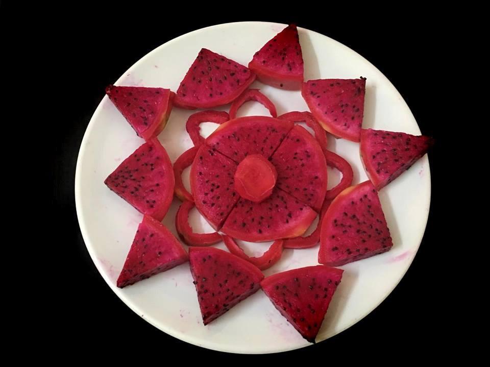 Tham khảo cách xếp hoa quả đơn giản mà đẹp như tranh-6
