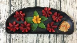 Tham khảo cách xếp hoa quả đơn giản mà đẹp như tranh