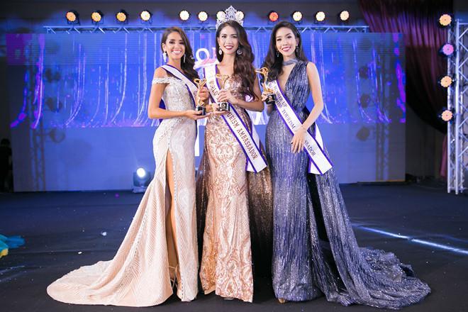 ÍT AI BIẾT: Tân Hoa hậu Đại sứ Du lịch Thế giới Phan Thị Mơ từng bị Đặng Thu Thảo và Diễm Hương hạ đo ván-19