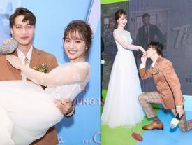 Hết bồng bế lại đến hôn tay, lẽ nào S.T và Jang Mi đã thực sự là một cặp 'phim giả tình thật'