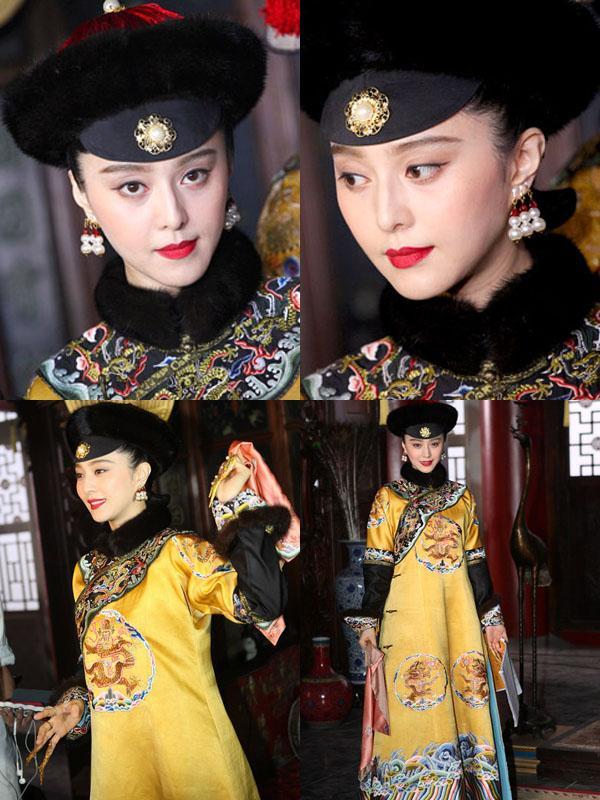 Phạm Băng Băng - Xa Thi Mạn - Châu Tấn: Ai mới là Kế Hoàng Hậu đẹp nhất trên màn ảnh?-2