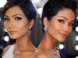 Góc mặt 3/4 đẹp xuất sắc là lợi thế giúp H'Hen Niê tỏa sáng tại Miss Universe 2018