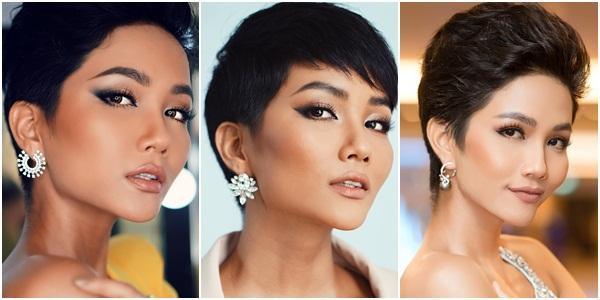 Góc mặt 3/4 đẹp xuất sắc là lợi thế giúp HHen Niê tỏa sáng tại Miss Universe 2018-4