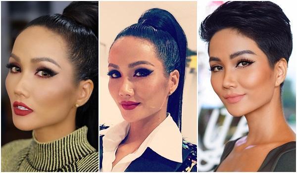 Góc mặt 3/4 đẹp xuất sắc là lợi thế giúp HHen Niê tỏa sáng tại Miss Universe 2018-5