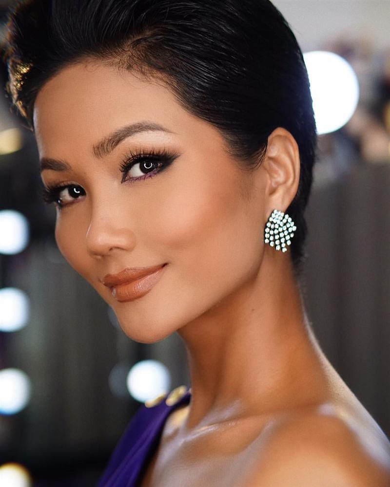 Góc mặt 3/4 đẹp xuất sắc là lợi thế giúp HHen Niê tỏa sáng tại Miss Universe 2018-7