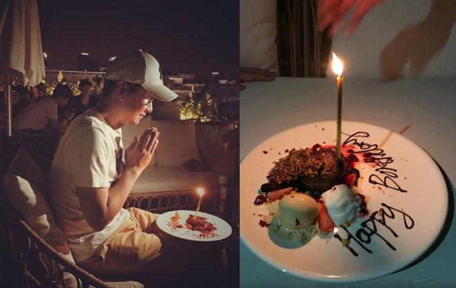 Sao nam Hoàn Châu cách cách sinh nhật, không bạn bè chúc mừng-1