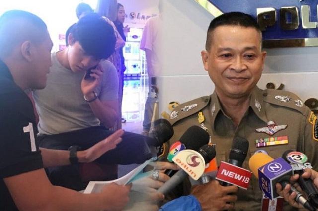 Tài tử Thái Lan bị cảnh sát ập vào bắt giữ trên phim trường-2
