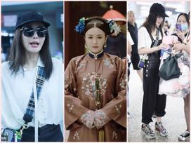 'Vỡ mộng' với nhan sắc thật sự không photoshop của 'Phú Sát hoàng hậu' Tần Lam