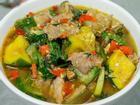 Cách nấu canh thịt heo bí ngô thơm ngon và giàu dinh dưỡng, chất hơn ăn tiệm