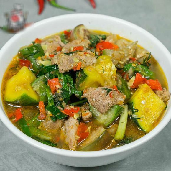 Cách nấu canh thịt heo bí ngô thơm ngon và giàu dinh dưỡng, chất hơn ăn tiệm-1