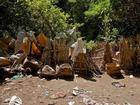 Tục phơi thây người chết trong lồng tre trên đảo Bali