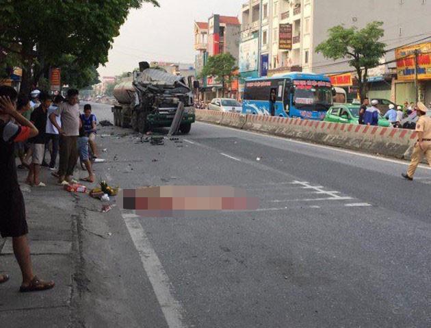 Tai nạn liên hoàn trên quốc lộ, 1 phụ nữ tử vong-2