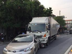 Tai nạn liên hoàn trên quốc lộ, 1 phụ nữ tử vong