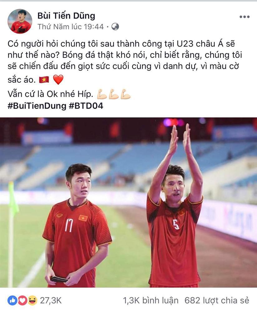Dàn cầu thủ U23 VN đồng loạt đăng ảnh trước khi tham dự ASIAD 2018-2
