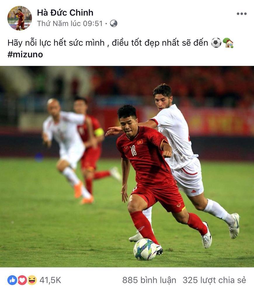 Dàn cầu thủ U23 VN đồng loạt đăng ảnh trước khi tham dự ASIAD 2018-5
