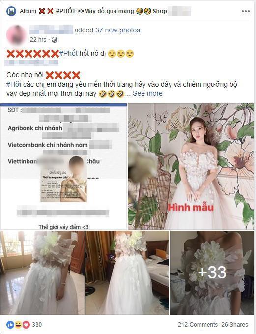 Đặt 2 bộ đầm sau khi xem livestream bán hàng online, thứ cô gái Đà Nẵng nhận về thật đáng sợ-1