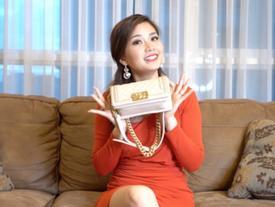 Khám phá túi: Diễm Trang mang túi hàng hiệu nhưng... không có tiền