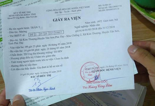 Nhiều người ở Phú Thọ bỗng nhiên nhiễm HIV: Bộ Y tế chỉ đạo khẩn-1
