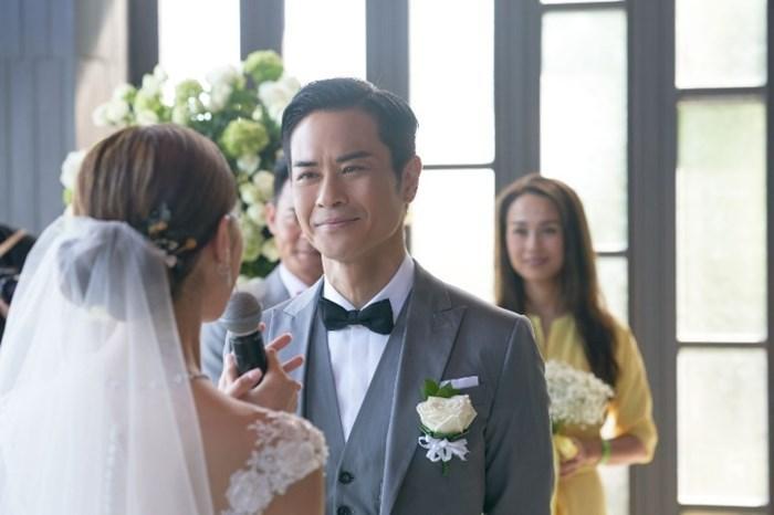 Tài tử TVB Trịnh Gia Dĩnh hôn say đắm hoa hậu Hong Kong trong đám cưới cổ tích-8