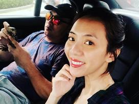 Vợ chồng Thu Trang và Tiến Luật tình tứ bên nhau sau ồn ào cãi vã