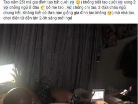 Chàng trai 25 tuổi chưa dám cưới vợ vì cả nhà ba thế hệ đều ngủ chung một phòng