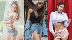 Phái đẹp châu Á bày cách mặc quần 5cm không phản cảm
