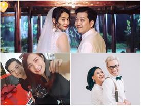 2 cặp sao được fan mong cưới chẳng kém Nhã Phương, Trường Giang