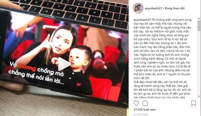 Bạn gái Duy Mạnh lên tiếng bảo vệ Văn Quyết giữa bão dư luận-2