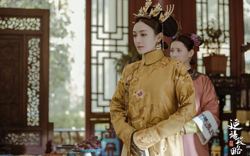 Phú Sát Hoàng Hậu Tần Lam đẹp lịm tim trên tạp chí Blue số tháng 8-1