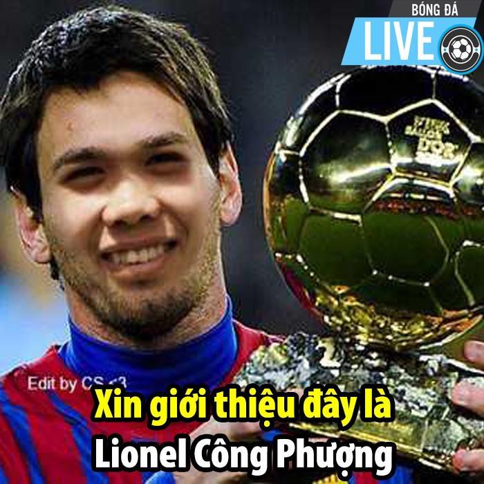 Ảnh chế Messi trao vương miện trượt penalty cho Công Phượng-5