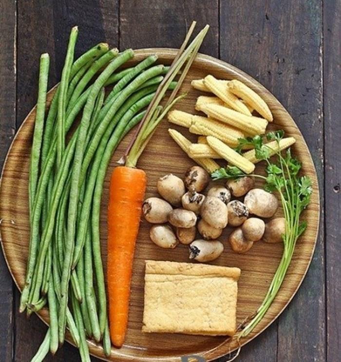 Cách nấu món rau củ kho chay cực hấp dẫn cho bữa cơm thanh đạm-1