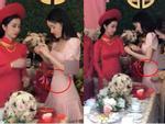 Trước Nhã Phương, nhiều mỹ nhân Việt cũng bị nghi cưới chạy bầu khi mặc áo cô dâu mà bụng lùm lùm-13