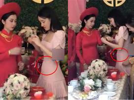 Đoạn clip nhận định Nhã Phương lộ bụng bầu 3 tháng đang lan truyền khiến showbiz Việt xôn xao