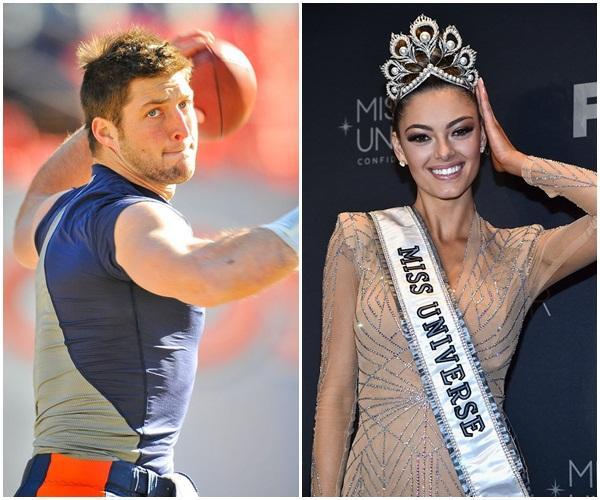 Không còn úp mở, đương kim Hoa hậu Hoàn vũ công khai yêu chàng cầu thủ quyết giữ đời trai đến đêm tân hôn-1