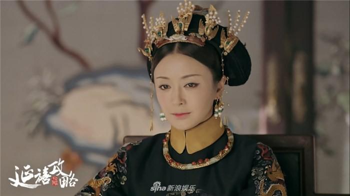 Phú Sát hoàng hậu Tần Lam trong Diên Hi Công Lược rõ ràng đẹp xuất sắc, nhưng sự thật trước khi dao kéo thì sao?-12