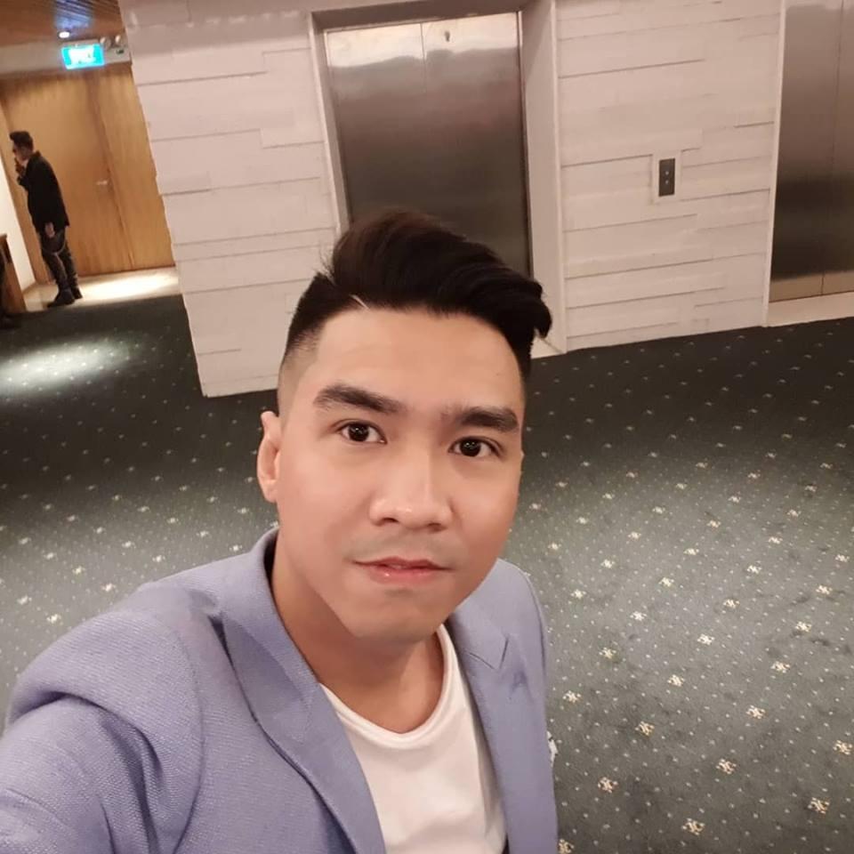 Phan Thành lọt thỏm khi đứng cạnh tài tử TVB - Mã Đức Chung-9