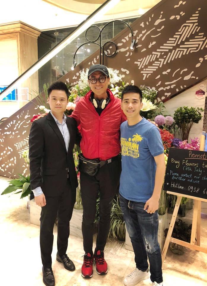 Phan Thành lọt thỏm khi đứng cạnh tài tử TVB - Mã Đức Chung-1
