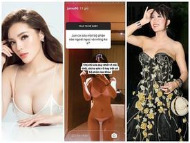 Ngoài Jun Vũ còn có 4 mỹ nhân khác dám công khai phẫu thuật nâng ngực 'khủng'