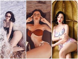 Nhìn Angela Phương Trinh miệt mài pose dáng khoe vòng 3 mà muốn vẹo xương sống