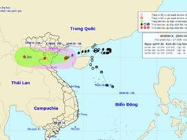 Bão số 4 giật cấp 12 tiến gần Nam Định