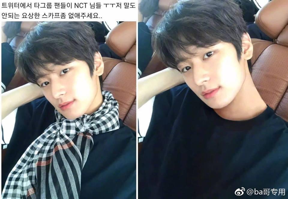 Đẳng cấp như fan sao Hàn: Giúp thần tượng thay quần, ủi phẳng áo chỉ bằng... photoshop-12