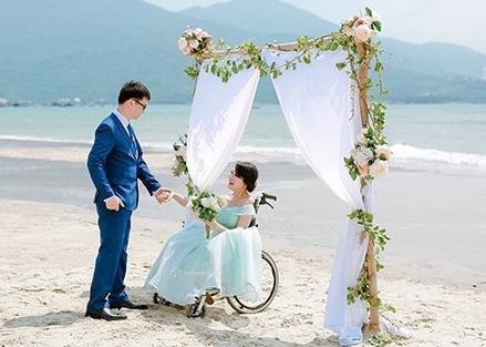 Dân mạng xôn xao trước bộ ảnh cưới của cô dâu nặng 13 kg-3