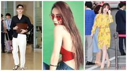 Street style sao Hàn: 'Nàng cỏ' Goo Hye Sun tái xuất rạng rỡ - 'phó tổng' Park Seo Joon luộm thuộm bất ngờ