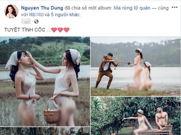 Cởi áo làm vấy bẩn Đà Lạt, Á hậu Thư Dung còn thách thức dư luận thông qua loạt hình ảnh kém sang-3