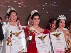 Đoạt vương miện nhưng tên chẳng ai biết, Đỗ Thị Thanh Huyền bị nghi ngờ thi chui Hoa hậu Phụ nữ Á Đông 2018
