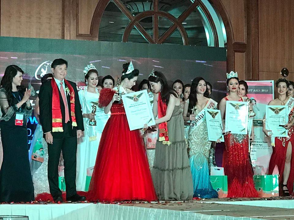 Đoạt vương miện nhưng tên chẳng ai biết, Đỗ Thị Thanh Huyền bị nghi ngờ thi chui Hoa hậu Phụ nữ Á Đông 2018-2