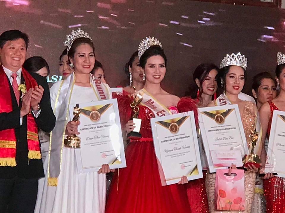 Đoạt vương miện nhưng tên chẳng ai biết, Đỗ Thị Thanh Huyền bị nghi ngờ thi chui Hoa hậu Phụ nữ Á Đông 2018-3