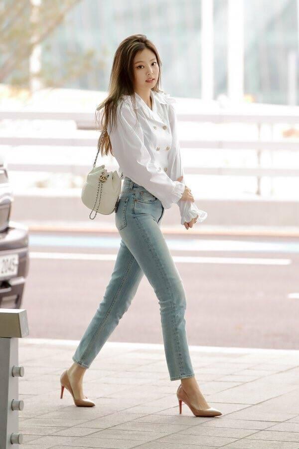 Biến sân bay thành sàn catwalk, Black Pink Jennie khiến cư dân mạng phát cuồng vì quá đẹp-5