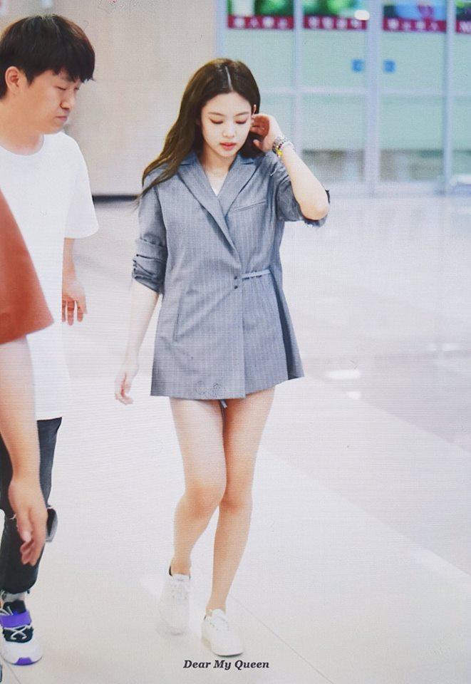 Biến sân bay thành sàn catwalk, Black Pink Jennie khiến cư dân mạng phát cuồng vì quá đẹp-6